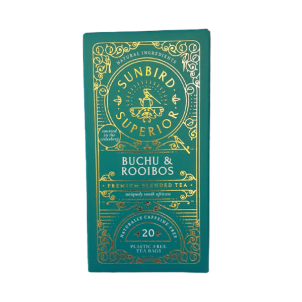 Sunbird Superior Tea - Buchu & Rooibos