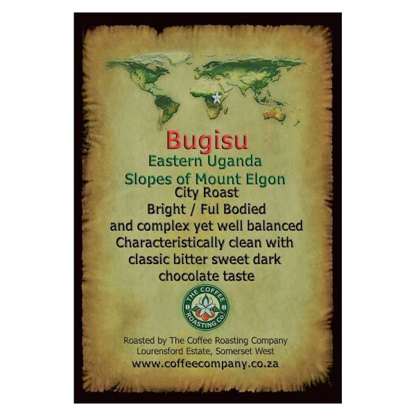Uganda - Bugisu - Single Origin Green Beans - 1kg