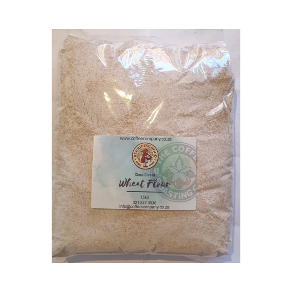 Unsifted whole wheat Flour - Stone ground - 1.5kg