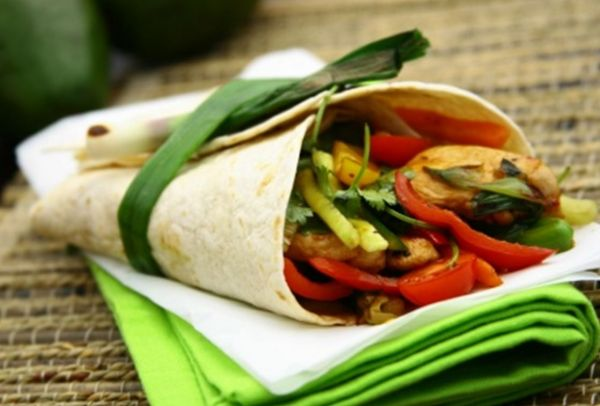 Fresh Wrap (Vegetable or Chicken)