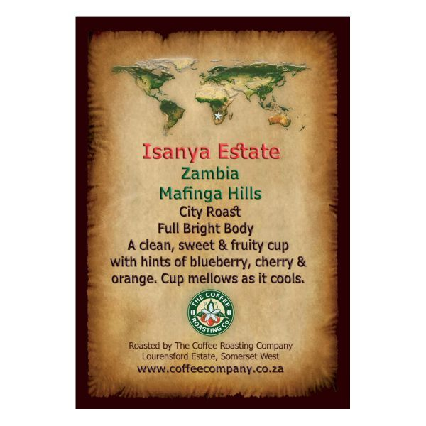 Zambia - Isanya Estate - Single Origin Coffee