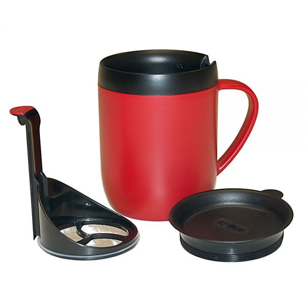 Zyliss - Hot Brew Travel Mug Red